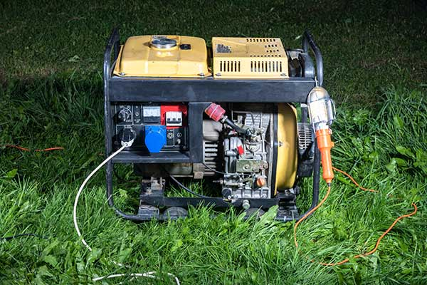 rv generator to charge battery