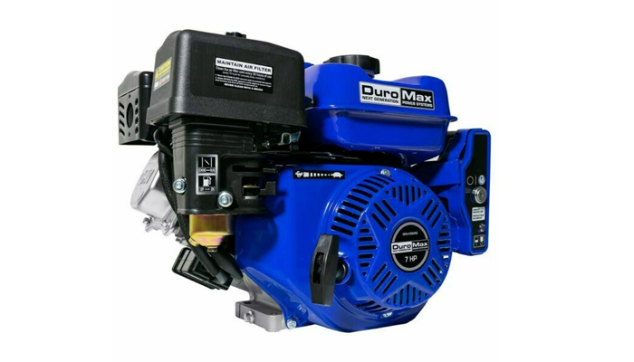 duromax engine from a generator
