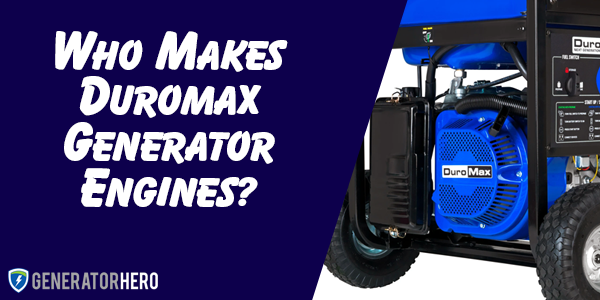 who makes duromax generator engines